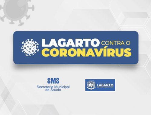 Boletim do Coronavírus em Lagarto – 07 de maio de 2021