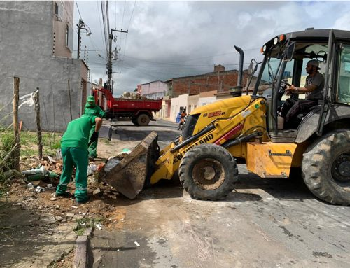 Cata-Treco: Prefeitura de Lagarto realiza ação no Bairro Libório