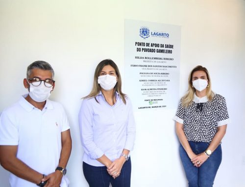 Prefeitura de Lagarto inaugura Ponto de Apoio da Saúde do povoado Gameleiro