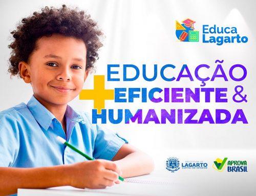 PREFEITURA DE LAGARTO INVESTE EM UMA EDUCAÇÃO MAIS EFICIENTE E MAIS HUMANIZADA