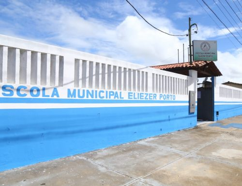 RENOVA ESCOLA: Maior Unidade de Ensino do povoado Brejo passa por revitalização