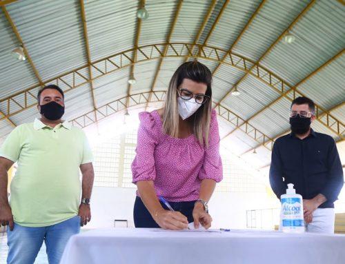 Prefeitura de Lagarto em ação: assinada Ordem de Serviço para construção do novo CRAS do Ademar de Carvalho