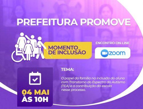 """Educação de qualidade para todos: Prefeitura de Lagarto lança o Projeto """"Momento de inclusão"""""""
