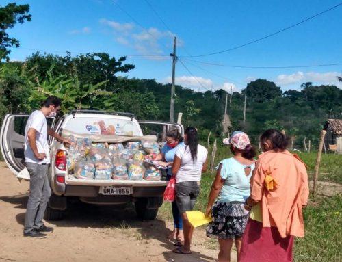 Prefeitura de Lagarto segue distribuindo alimentos para famílias mais vulneráveis do município