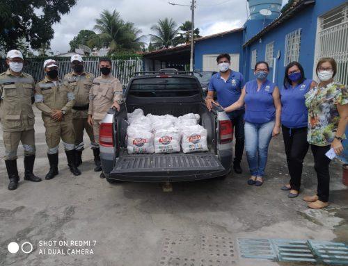 Prefeitura de Lagarto/DTTU, realiza entrega de cestas básicas para a APAE