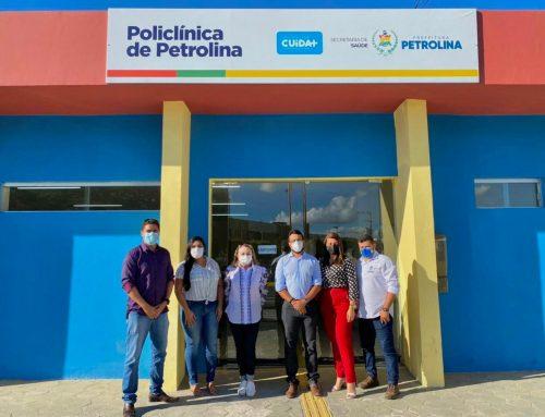 Comissão da Prefeitura de Lagarto visita Policlínicas de Petrolina e Juazeiro