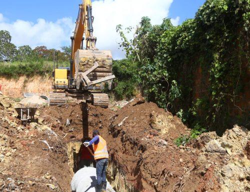 Prefeitura de Lagarto executa serviço de drenagem no Loteamento Libório