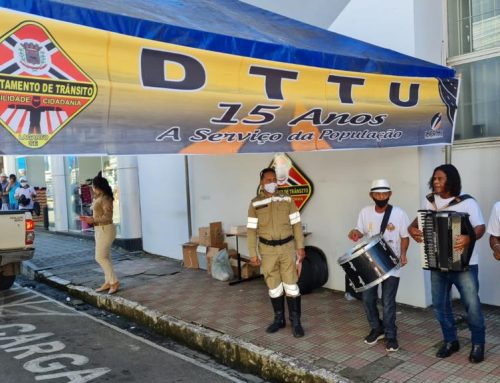 "Trânsito, Saúde e Cidadania"": Prefeitura de Lagarto realiza Comando Educativo no centro comercial"