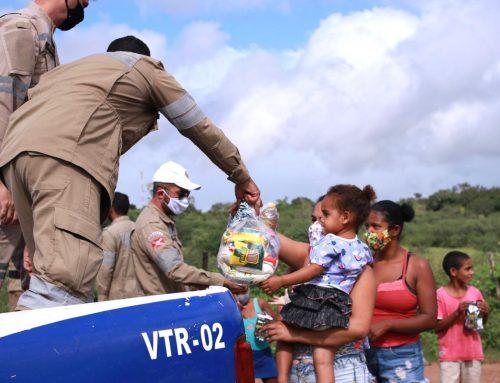 15 anos do órgão: Prefeitura de Lagarto, por meio do DTTU, realiza entrega de cestas básicas em comunidades carentes