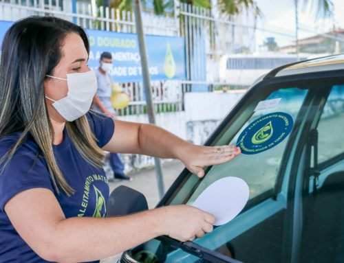 Prefeitura de Lagarto promove adesivaço para incentivar Campanha de Aleitamento Materno
