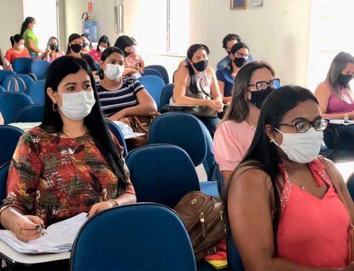 Prefeitura de Lagarto reúne gestores escolares para discutir o Projeto Aprova Brasil