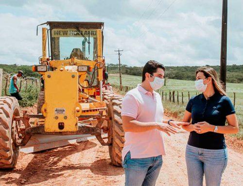 Desenvolvimento na cidade e no campo: Estrada que dá acesso aos povoados da região do Crioulo será totalmente revitalizada