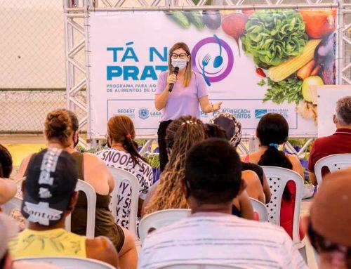 """""""Tá no Prato"""": Prefeitura lança projeto de aquisição e distribuição de alimentos produzidos pela agricultura familiar lagartense"""