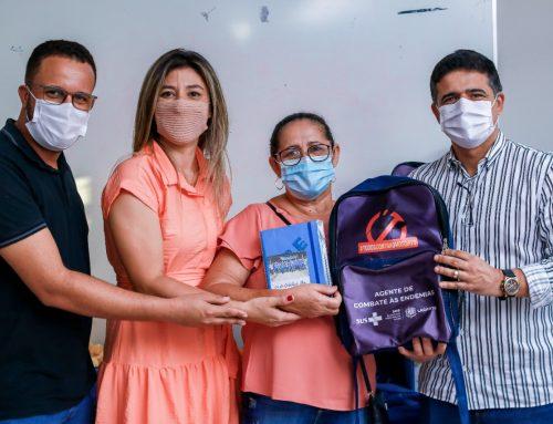 Prefeitura de Lagarto realiza entrega de materiais de trabalho dos Agentes de Combate às Endemias