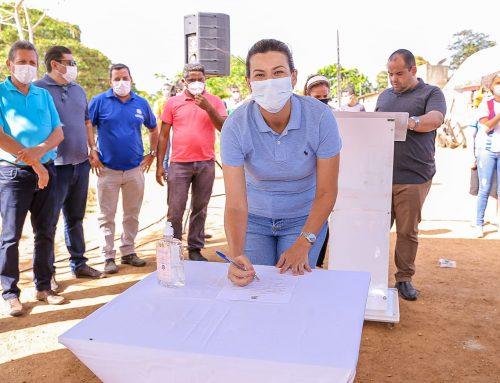 Projeto Calçar Mais: Conjunto Pedro Santos Góis no povoado Olhos D'água será pavimentado