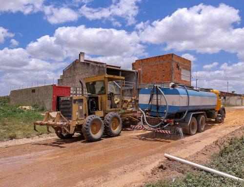 Prefeitura de Lagarto está preparando principal via do Santa Terezinha para pavimentação asfáltica